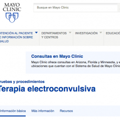 1.-Mayo Clinic (Información en castellano)